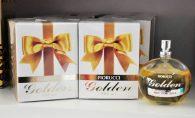 A linha Fiorucci traz fragâncias especiais para as mulheres de negócio. As empresárias podem deixar a sua marca no ar com GOLD.