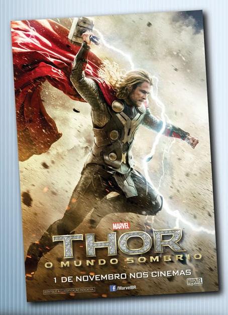 Mini Pôster Thor