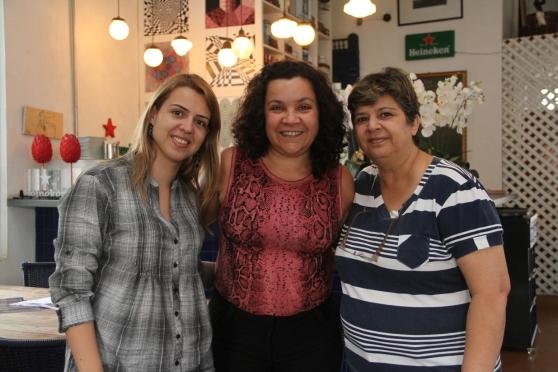 Primeira dama - Andreza Junqueira Franco - presidente da ABATUR - Renata Roncaratti e empresária Sandra Diegues