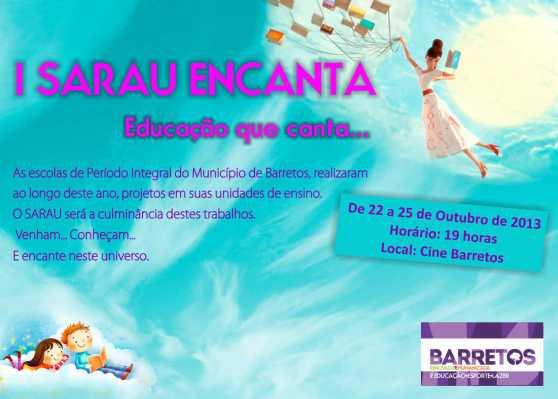 Sarau da Educação - convite - 10.13