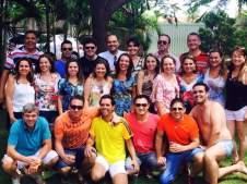 Turma de ex-alunos do Unifeb