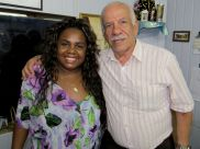 Gracy Mary e Presidente Jamil