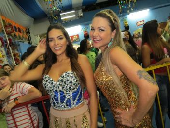 Nuelle Alves e Maísa Magalhães