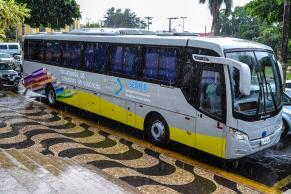 Ilustração - Ônibus