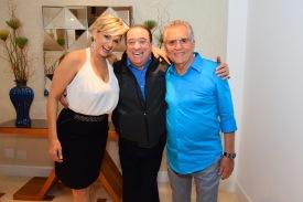 Andrea de Nobrega, Raul Gil e Carlos Alberto (1)