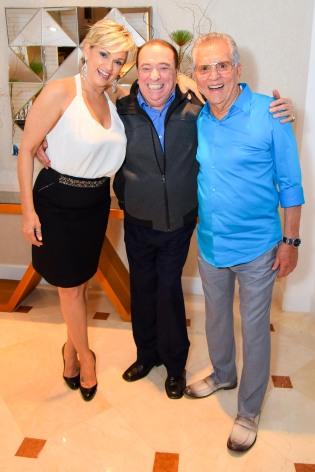 Andrea de Nobrega, Raul Gil e Carlos Alberto (2)