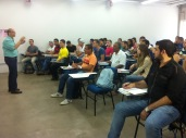 Bashar acompanha aulas no Unifeb