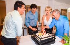 Cesar Filho, Celso Portiolli, Andrea de Nobrega e Carlos Alberto