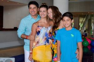 Cezar Filho e familia