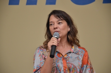Coordenadora do Curso de engenharia ambiental - Jaqueline Bória