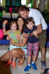 Emerson Fittipaldi, Rossana e filhos (1)