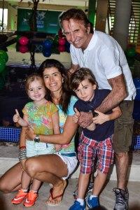 Emerson Fittipaldi, Rossana e filhos (2)