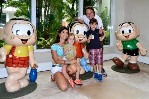 Emerson Fittipaldi, Rossana e filhos (3)