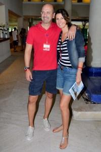 Jacqueline Dalabona e Luis Banhara