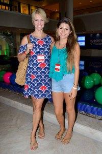 Laura Wie com a filha