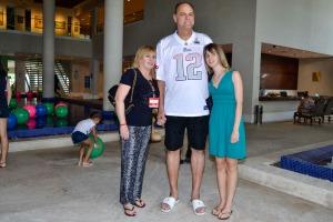 Oscar Schmidt e familia