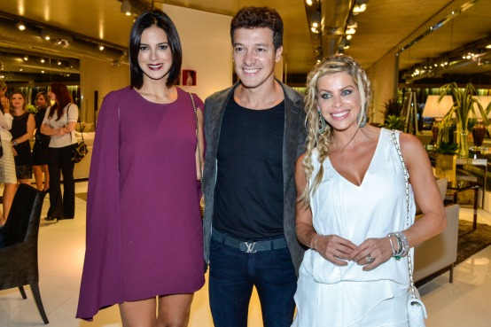 Vera Viel, Rodrigo Faro e Karina Bacchi