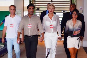 Xuxa chegando (1)