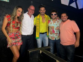 Ana Paula Ferrari, Guilherme Contesini Jr, Matheus Gouveia, Elcio Coronato e Danilo Dantas