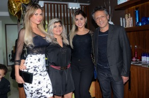 Cacau Colucci, Cidinha Lins, Vanessa Mesquita e Ivan Stringhi - Foto: Eduardo Martins / Azzi Agency