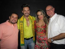 Danilo Dantas, Matheus Gouveia, Ana Paula Ferrari e Guilherme Contesini Jr