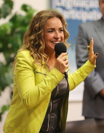 Daniela Mercury - Foto: Karina Zambrana / MS - Fotos Públicas (20/05/2015)