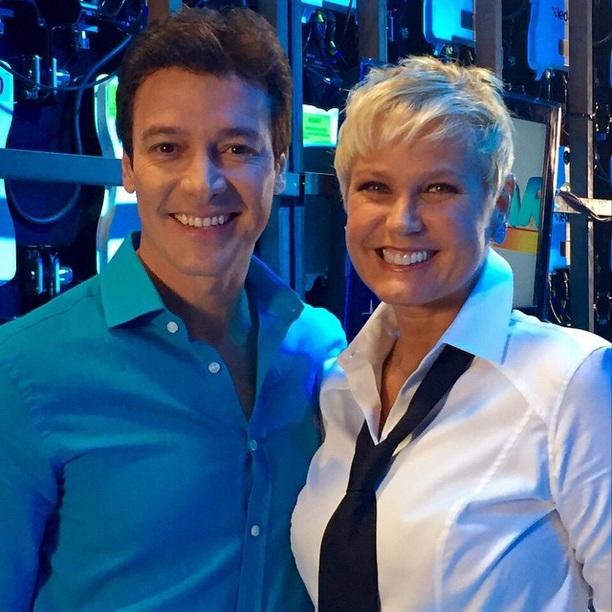 Rodrigo Faro e Xuxa Meneghel