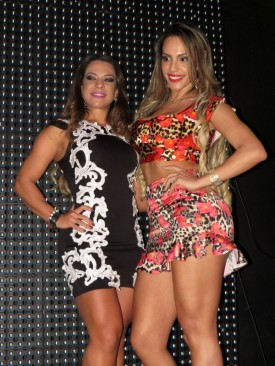 Yara Muniz e Ana Paula Ferrari