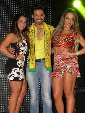 Yara Muniz, Matheus Gouveia e Ana Paula Ferrari