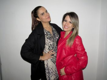 Cantora Gilmelândia e Tânia Oliveira
