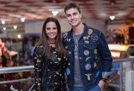 Viviane Araujo e Paulo Dalagnoli