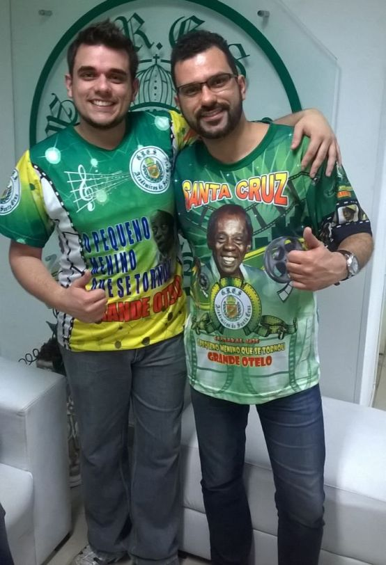 Wesley Cássio e William Paixão
