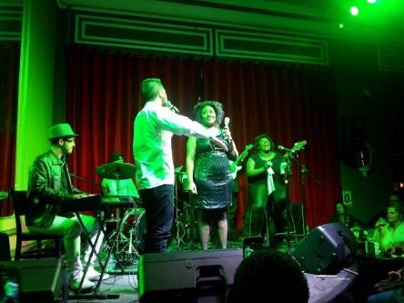 Luís Pedro Zauli e Vanessa Jackson no Bar Brahma 01