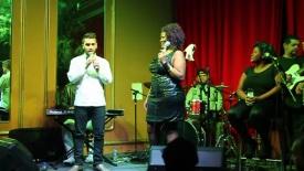 Luís Pedro Zauli e Vanessa Jackson no Bar Brahma 05