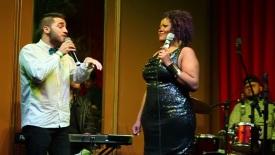 Luís Pedro Zauli e Vanessa Jackson no Bar Brahma 09