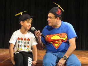 Sergio Mallandro e Pedro Paulo